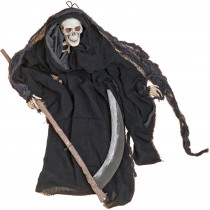 36 in. Halloween Hanging Reaper With Scythe