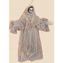 36 in. Hanging Skeleton Grim Reaper In Cloth