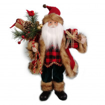 Home Accents Holiday 16 in. Standing Santa