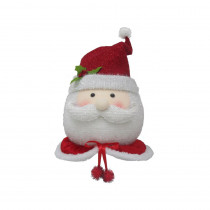 Home Accents Holiday 19 in. Santa Christmas Tree Topper