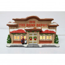 Home Accents Holiday 5.5 in. Lit our site Village House