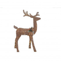 Home Accents Holiday 5 ft. Pre-Lit Grapevine Animated Standing Deer