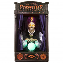 Home Accents Holiday 33.5 in. Skeleton Fortune Teller