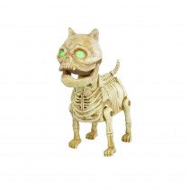Home Accents Holiday 7 in. Animated Boneyard Mini-Pup with LED Illuminated Eyes