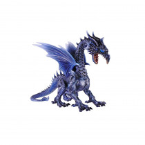 Home Accents Holiday 19 in. Wind Dragon with LED Eyes