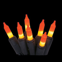 Home Accents Holiday 100-Light Candy Corn Mini String Light Set