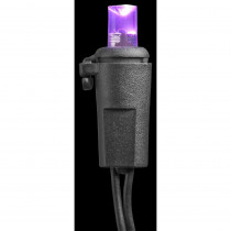 Home Accents Holiday 20-Light LED Purple Concave Battery Operated Light Set