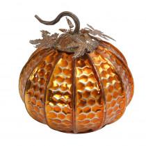 13 in. Elegant Tabletop Harvest Pumpkin