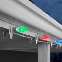 LightShow 20-Light ColorMotion ClipLights C9 (Multi) Light String