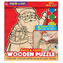 Made By Me Santa Wooden Puzzle