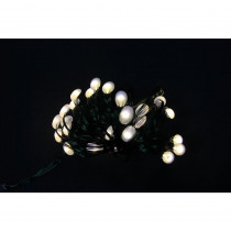Martha Stewart Living 8 ft. 24 LEDs Ultra Slim Wire Warm White Large Dot String Light