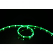 Meilo 16 ft. Green All Occasion Indoor Outdoor LED Rope Light 360° Directional Shine Decoration (2-Pack, 32 ft. Total)