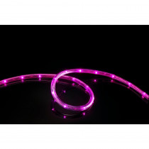 Meilo 16 ft. Pink All Occasion Indoor Outdoor LED Rope Light 360° Directional Shine Decoration (2-Pack, 32 ft. Total)