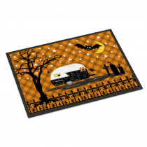 Caroline's Treasures 18 in. x 27 in. Indoor/Outdoor Halloween Vintage Camper Door Mat