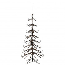 7 ft. Wine Bottle Artificial Christmas Tree with 500 Clear Lights