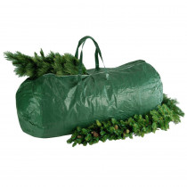 National Tree Company Green Heavy Duty Tree Storage Bag with Handles and Zipper - Fits Up to 9 ft., 29 in. x 56 in.