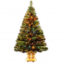 National Tree Company 4 ft. Fiber Optic Radiance Fireworks Artificial Christmas Tree