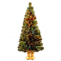 National Tree Company 5 ft. Fiber Optic Radiance Fireworks Artificial Christmas Tree