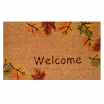 Home & More Autumn Breeze 17 in. x 29 in. Coir Door Mat