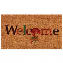 Home & More Fall Beauty 17 in. x 29 in. Coir Door Mat