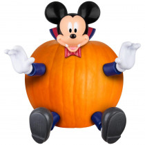 4.53 in. Pumpkin Push Ins-Mickey as Blue Vampire