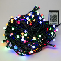 Novolink Bundle - 200 Light 8 mm Mini Globe Multi-Color LED String Light with Wireless Smart Control + 200 Light Add-on