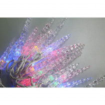 Novolink 80-Light 8mm Mini Globe Multi-Color Icicle Led Lights with Wireless Smart Control