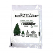 Pursell's Christmas Tree Preservative Christmas Tree Removal Bag