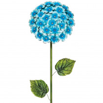 Regal 49 in. Hydrangea Flower Stake Blue