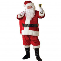 Rubie's Costumes Adult XXL Regency Plush Santa Suit