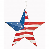 16 in. Tin Americana Star B