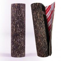 The Christmas Tree Hugger 8.5 in. Christmas Tree Hugger Brown Bark Christmas Tree Skirt Base Pole Wrap
