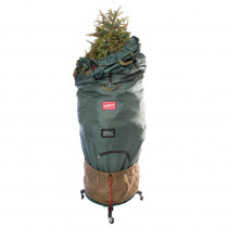 TreeKeeper Pro Large Adjustable Bag with 2 Way Rolling Tree Stand