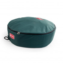 TreeKeeper 30 in. Green Foam Lined Wreath Storage Bag