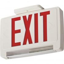 Lithonia Lighting ECBR 3-Watt White Integrated LED Emergency Light Combo Red