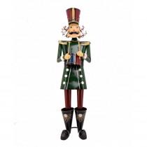 Zaer Ltd. International 60 in. Tall Christmas Traditional Nutcracker with Drum