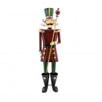Zaer Ltd. International 59 in. Tall Christmas Nutcracker with Baton