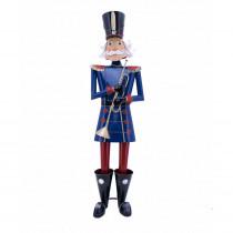 Zaer Ltd. International 59 in. Tall Christmas Nutcracker with Trumpet