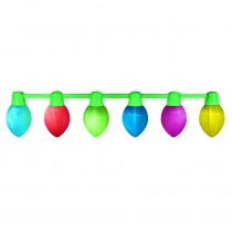 Airflowz 9 ft. Hanging Light Parade Inflatable Christmas Bulbs