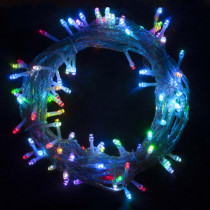 Aleko 34 ft. 100-Light LED Multicolor Electric Powered String Lights