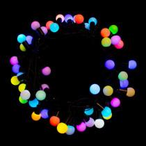 Aleko 32 ft. 75-Light LED Multi-Color Electric Powered String Lights