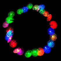 Aleko 30 LED Multi-Color Sunflower String Lights