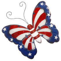 Alpine Americana Butterfly Wall Decor