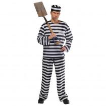Amscan Mens Jail Bird Halloween Costume Standard