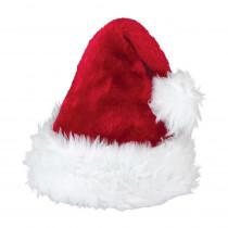 Amscan 15 in. x 11 in. Santa Christmas Deluxe Hat (2-Pack)