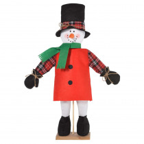 Amscan 23.5 in. Christmas Friendly Standing Snowman Decoration (2-Pack)