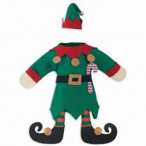 Amscan Christmas Elf Bottle Cover (3-Pack)