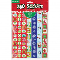 Amscan Big Pack Christmas Stickers (350-Count 5-Pack)