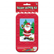 Amscan Santa Christmas Activity Box (27-Count 4-Pack)