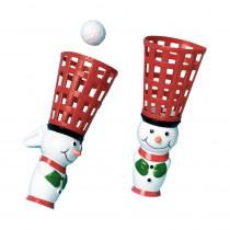 Amscan Snowman Christmas Pop and Catch Game (3-Count 4-Pack)
